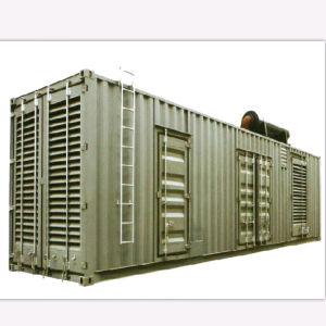 コンテナに詰められた発電機セット、コンテナに詰められた発電所