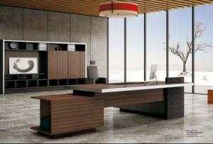 Современный стиль Manager стол HDF торговой мебели