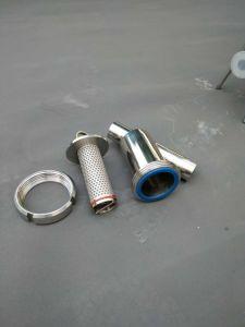 Purificador de agua personalizada de acero inoxidable tipo de filtro de tubo de la Y.