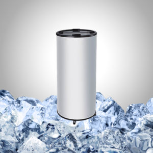 Охладитель для напитков цилиндра экструдера с колесами для напиток поощрения