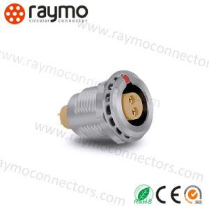2pinos Fgg 0a série b macho e fêmea circular de Metal Empurre puxe o conector do cabo de áudio e vídeo