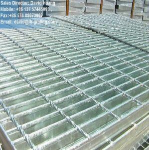 Galvanizado en caliente rejilla fabricados para la plataforma de la estructura de acero