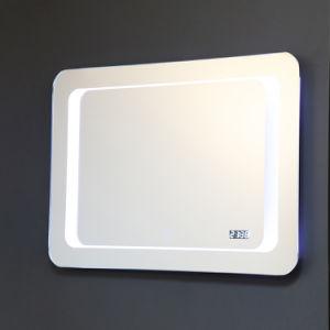 Classic Fonction lumineux LED décoratif courtoisie éclairé Salle de bains avec miroir désembueur capteur tactile