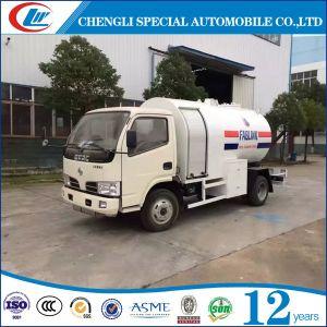 Goede Kwaliteit 5cbm de Stijve Vrachtwagen van LPG 5000L