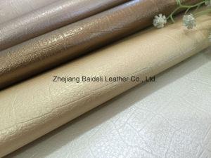 Motif crocodile cuir synthétique en PVC pour dame sac de mode