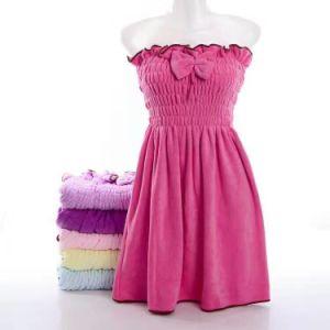 Microfiber Batthタオルの女性浴室のスカート