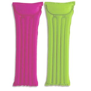 El TPU o PVC de tamaño estándar de agua inflable Airmattress