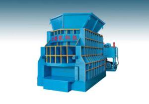 Ws-800 Sucata Horizontal máquina de corte