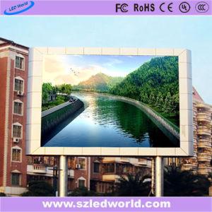 P6 HD pleine couleur LED fixe de la publicité La publicité du Conseil