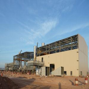 Struttura d'acciaio prefabbricata per la costruzione magazzino/del workshop