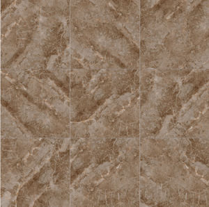 De bruine Ceramiektegel van het Rustieke Porselein van Glazzed van de Kleur voor Winkelcomplex