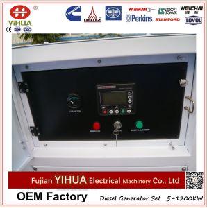 gerador silencioso do diesel da energia eléctrica de 10kw 15kw 20kw 30kw Yangdong