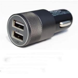Adaptador USB cargador de coche doble mayorista para Smart Phone