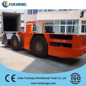 Mijnbouwlader van China van de vierwielaandrijving nieuwe de ondergrondse met capaciteit 3000Kg