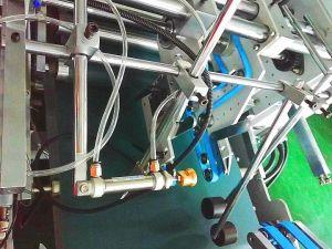 접히는 Xcs-1450AC 자물쇠 밑바닥 상자 기계를 접착제로 붙이기