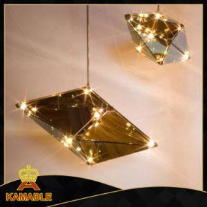 Hotel Cristal Interior LED decorativas lámparas colgantes colgante (KA8122-M)