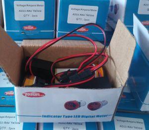 Função de Duplo Mini-Voltímetro e amperímetro