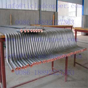 Staaf van het Koper van het titanium de Beklede/Staaf van het Koper van Ti de Beklede voor Elektrochemisch/het Galvaniseren/van de Elektrolyse Industrie van de Metallurgie van /Wet