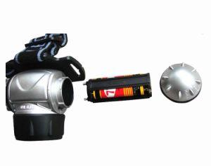 プラスチックキャンプの使用のより安い90degree調節可能な12LEDヘッドライト