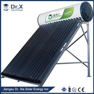 Precalentado, calentador de agua solar presionado alto