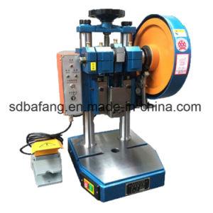 Punzón portátil pequeña máquina de prensa con el pedal de pie