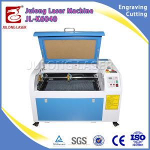 Beste Qualität! CO2 Glaslaser-Gefäß-Schuh-Entwurfs-Minilaser-Gravierfräsmaschine mit Cer Cerfiticate