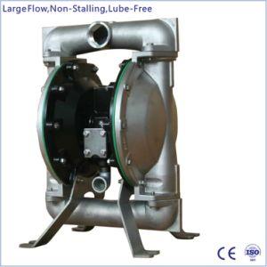 1.5  en acier inoxydable Double pompe à diaphragme à commande pneumatique