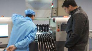 無鉛二重波の溶接工機械