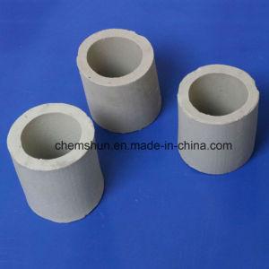 Anello di ceramica di Raschig dell'allumina per la colonna di distillazione