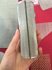Aço inoxidável tubo do filtro de malha fina/cilindro/cartucho do filtro de café, Filtro de cerveja, Filtro de Óleo, filtro de chá