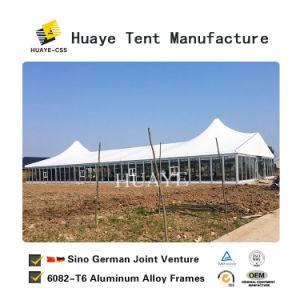 Роскошный адаптированные для использования вне помещений свадебное событие палатка со стеклянной стеной (10)