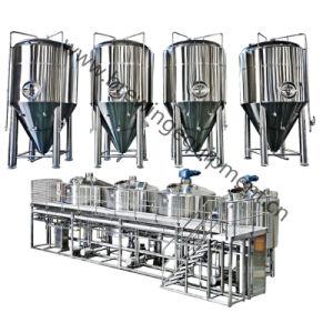 Planta de Cervecería industrial 7bbl equipo de destilación de cerveza