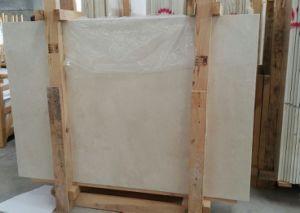 Los azulejos de mármol beige Crema Marfil y losas de mármol