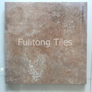 de 600X600mm Verglaasde Tegel van de Vloer van de Oppervlakte van het Porselein Matte Rustieke