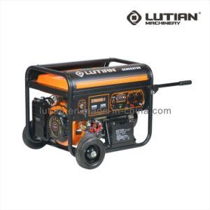 3.2Kw-6kw arranque eléctrico gasolina generador eléctrico portátil con CE