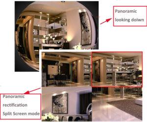 360度のホームIPのカメラ屋外の無線WiFiパノラマ式