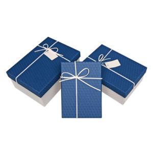 Lujo personalizado colorido arte impreso/cajas de cartón gris de la correa de embalaje de papel