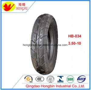 Roller-Reifen Motorcyle Gummireifen mit Gefäß 3.00-10 3.50-10