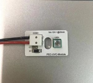 Lâmpada LED 265-340nm UV de 280 nm