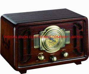 최신 인기 상품 고아한 Retro 앙티크는 라디오 음악 플레이어 FM 이다