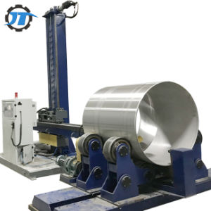 De automatische Oppoetsende Machine van de Tank van het Roestvrij staal