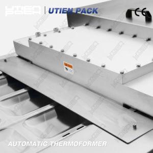 Cena profunda Blister termoformado automática Gas Mapa vacío a ras de la máquina de embalaje