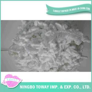 Lado de malhas de lã de tecelagem de algodão lenços de fios de fantasia