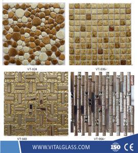 Verre/pierre//Métal/lanterne en marbre/mosaïque en céramique pour salle de bains/Piscine carreaux de mosaïque de plancher