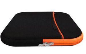 Wasserbeständigkeit-weicher Hülsen-Laptop-Beutel mit Constrast Farben-Reißverschluss