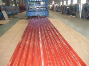 Plaat van het Dakwerk van het Staal Bladen/Aluzinc van het Dak van het metaal de Deklaag Golf