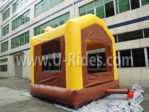 Caballo comercial gorila inflable trampolines inflables de la casa de rebote para niños