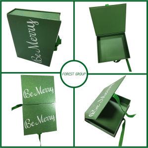 Rígido personalizadas Caja de regalo con cinta al por mayor