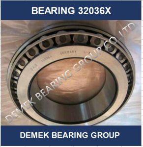 Qualidade superior do rolamento de roletes cônicos 32036 X em stock