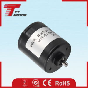 36mm 12V CC motor sin escobillas de electric